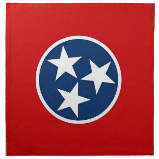 Tennessee State Flag American MoJo Napkin