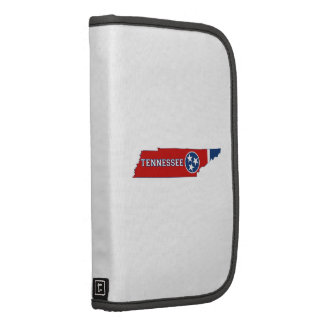 Tennessee State Flag and Map Folio Planner