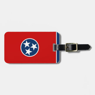 Tennessee State Flag Bag Tag