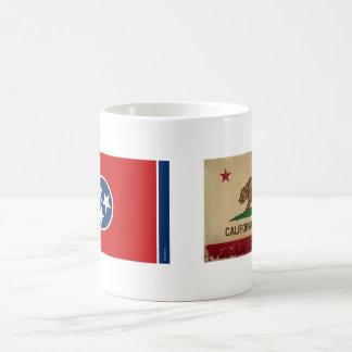 Tennessee State Flag Basic White Mug
