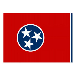 Tennessee State Flag Business Card Templates