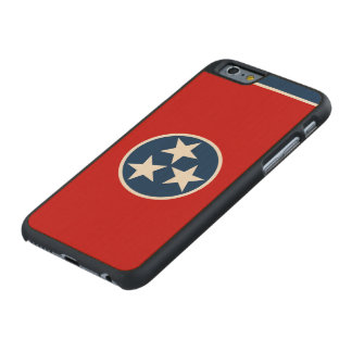 Tennessee State Flag Carved® Maple iPhone 6 Case