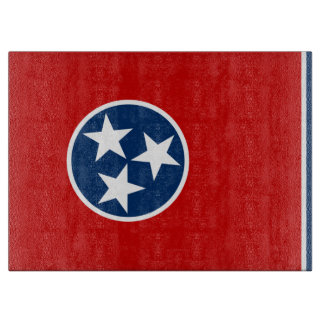 Tennessee State Flag Cutting Boards
