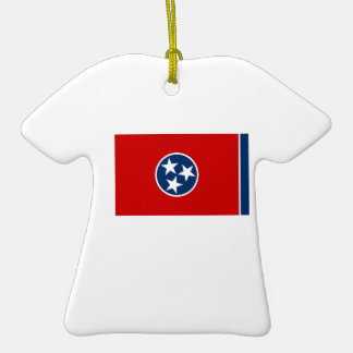 Tennessee State Flag Ceramic T-Shirt Decoration