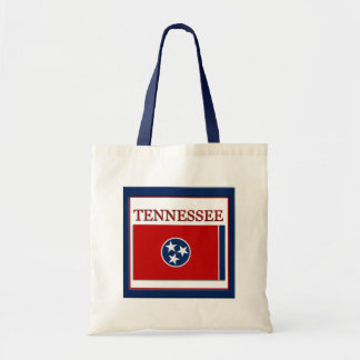Tennessee State Flag Design Budget Canvas Bag