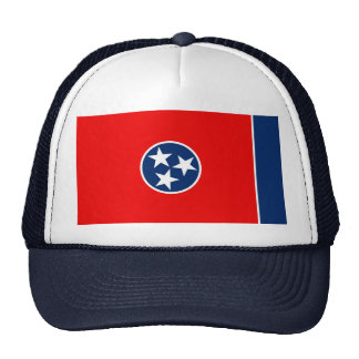 Tennessee State Flag Design Cap