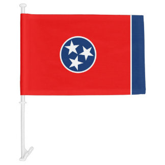 Tennessee State Flag Design Car Flag