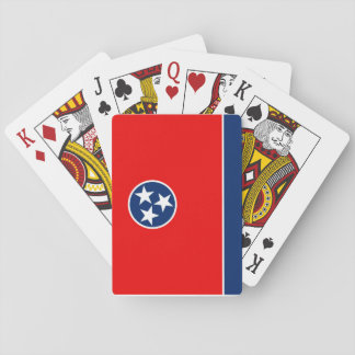Tennessee State Flag Design Playing Cards