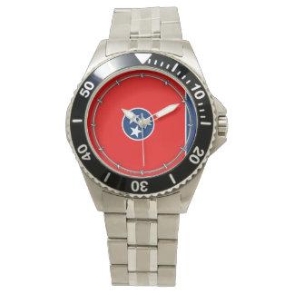 Tennessee State Flag Design Wristwatch