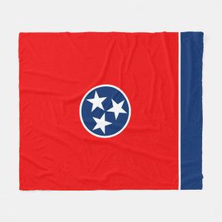 Tennessee State Flag Design Fleece Blanket