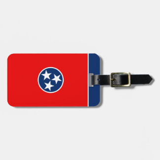 Tennessee State Flag Design Tags For Luggage