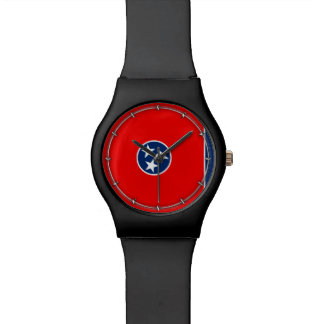 Tennessee State Flag Design Wristwatches