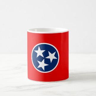 Tennessee State Flag Design Basic White Mug