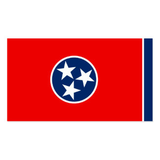 Tennessee State Flag Design Pack Of Standard Business Cards