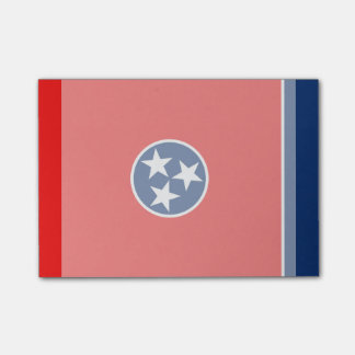 Tennessee State Flag Design Sticky Note