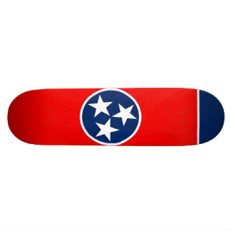 Tennessee State Flag Design Skateboard Decks