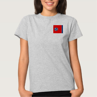 Tennessee State Flag Design T Shirts