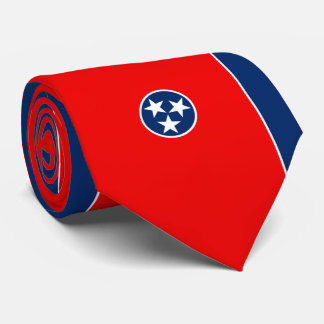 Tennessee State Flag Design Tie