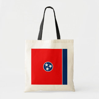Tennessee State Flag Design Tote Bag