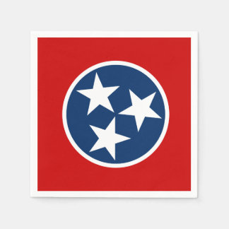 Tennessee State Flag Disposable Napkins