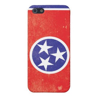 Tennessee State Flag Distressed iPhone 5/5S Cover