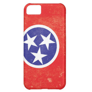 Tennessee State Flag Distressed iPhone 5C Case