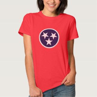 Tennessee State Flag Grunge Nashville Love Tshirts