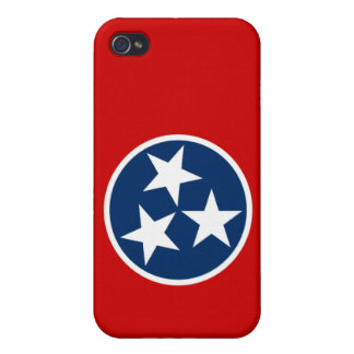 Tennessee State Flag Case For iPhone 4