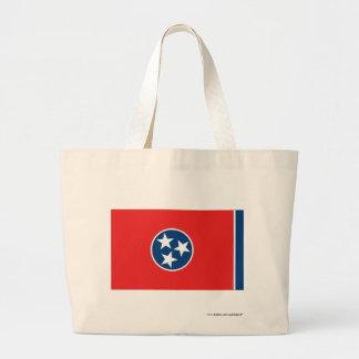 Tennessee State Flag Jumbo Tote Bag
