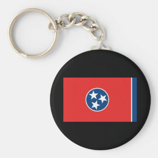 Tennessee State Flag Keychain