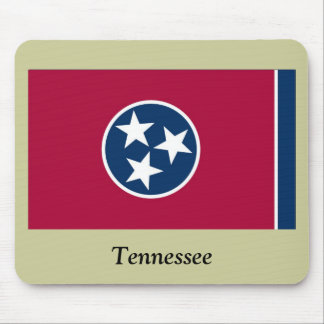 Tennessee State Flag Mouse Pad
