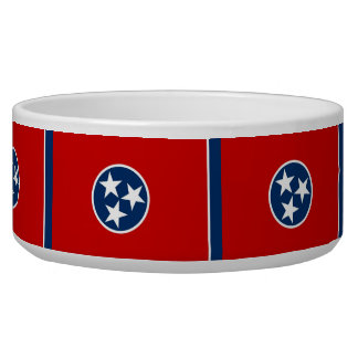 Tennessee State Flag Pet Bowl