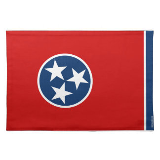 Tennessee State Flag Place Mat