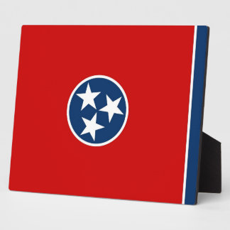 Tennessee State Flag Plaque