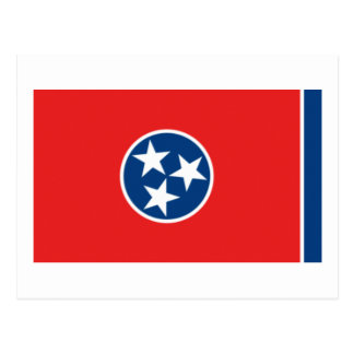Tennessee State Flag Post Card