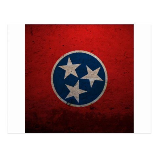 Tennessee State Flag Postcards