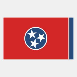 Tennessee State Flag Rectangular Sticker