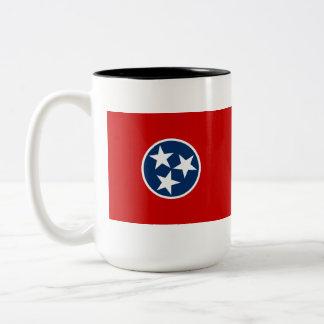Tennessee State Flag Two-Tone Mug