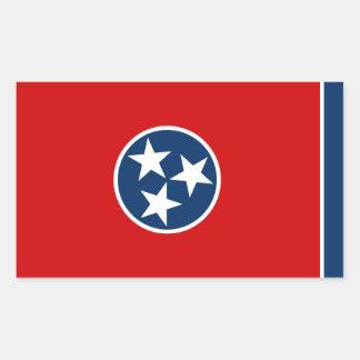 Tennessee State Flag, United States Rectangular Sticker
