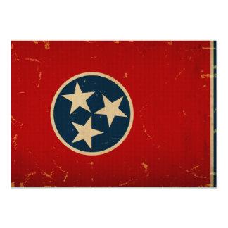 Tennessee State Flag VINTAGE Custom Invites