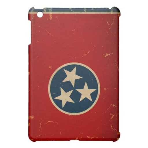 Tennessee State Flag VINTAGE Cover For The iPad Mini