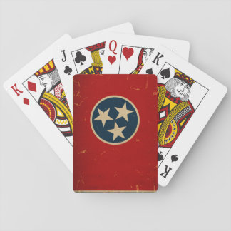 Tennessee State Flag VINTAGE Poker Deck