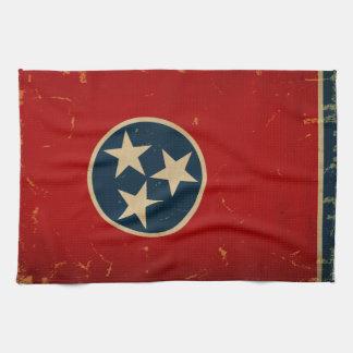 Tennessee State Flag VINTAGE Tea Towels