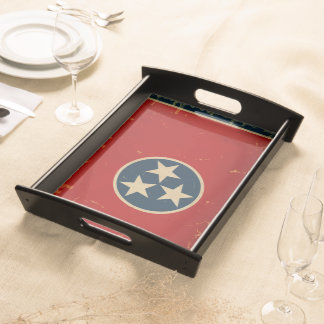 Tennessee State Flag VINTAGE Serving Trays