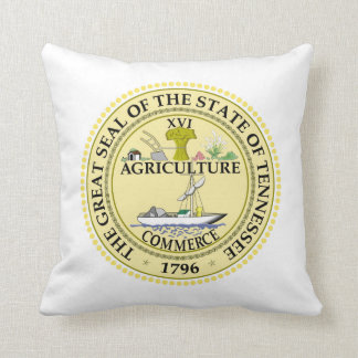 Tennessee state seal america republic symbol flag cushion
