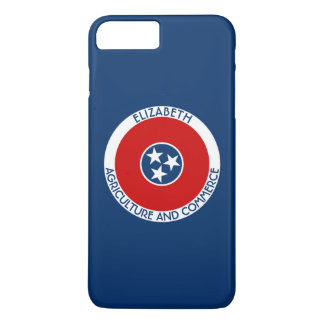 Tennessee The Volunteer State Personalized Flag iPhone 7 Plus Case