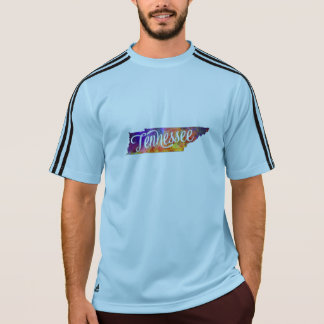 Tennessee U.S. State in watercolor text cut out T-Shirt