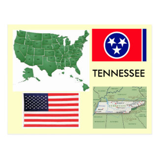 Tennessee USA Post Card