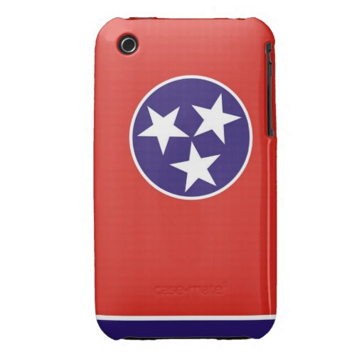 tennessee usa state flag case united america iPhone 3 covers