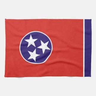 tennessee usa state flag towel